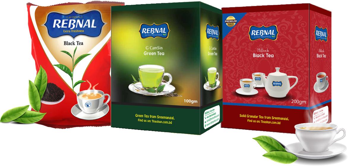 Rebnal Tea Brand Packet